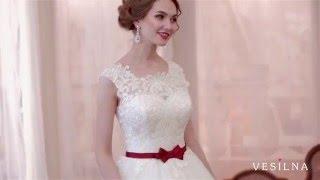 Свадебное платье А силуэт  2016 года от VESILNA™ модель 3049
