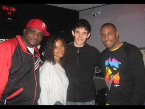 Colin Morgan & Angel Coulby on 1xtra Breakfast Show