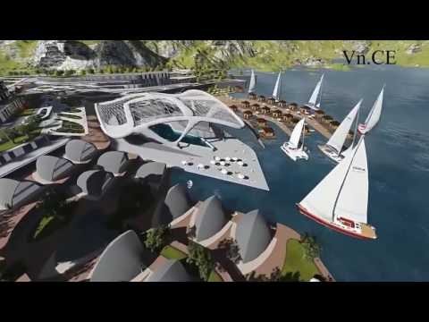 Tourism project in DUKAN , IRAQ   By VietNam Civil Engineering