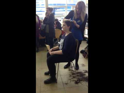 Lucy Kernot Hair Shaved for Charity!