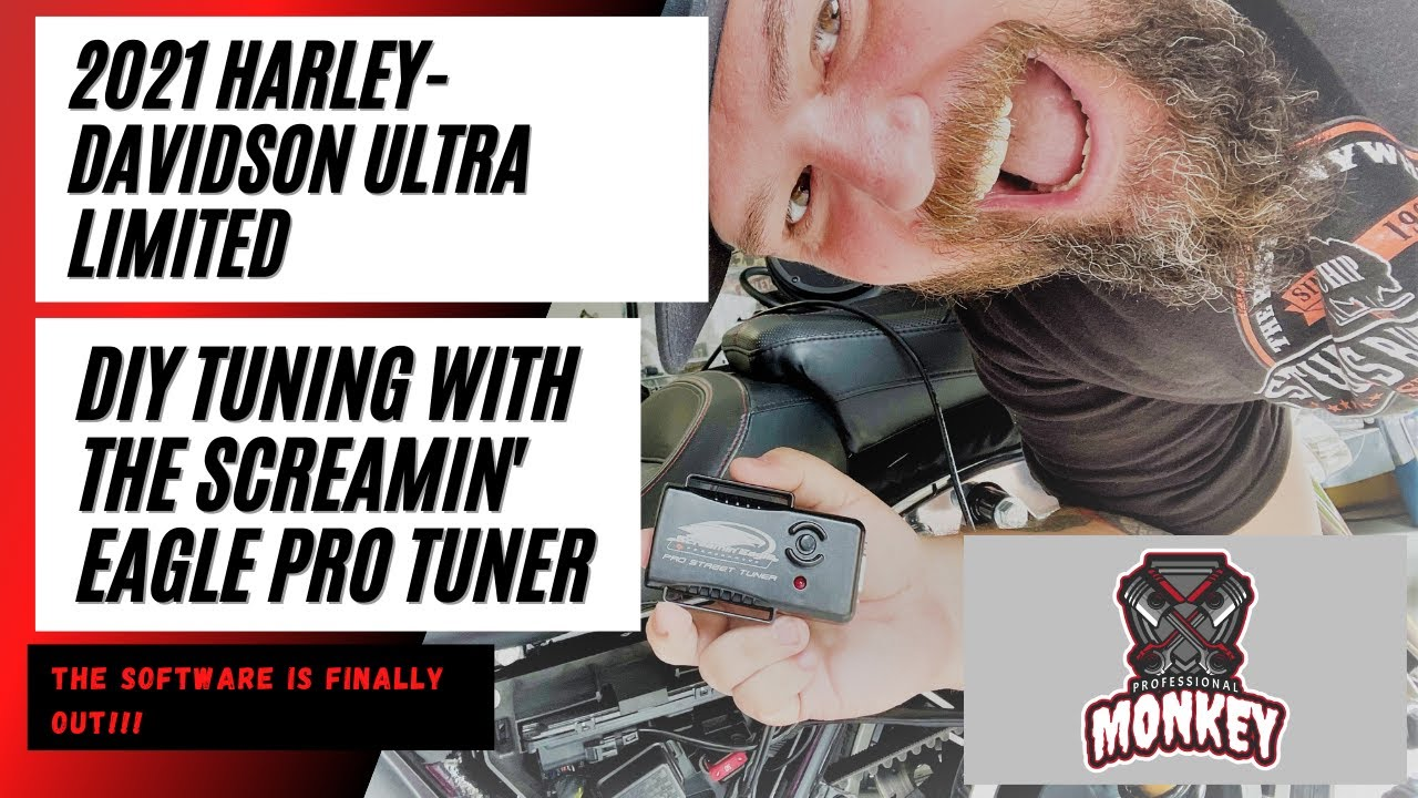 We finally get to TUNE the 2021 Harley Davidson Ultra Limited