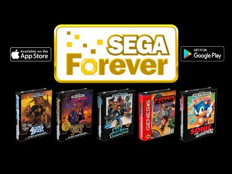Sega Forever Quick Look Sega Games On iPhone Or Android