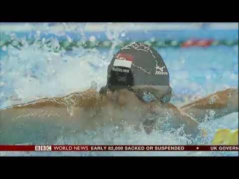 Olymp  BBC News   Olympics  Joseph Schooling Wins 1st Gold Medal for Singapore in 56 Years 2016