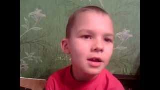 Пропала собака Поёт мальчик, 6 лет поёт супер