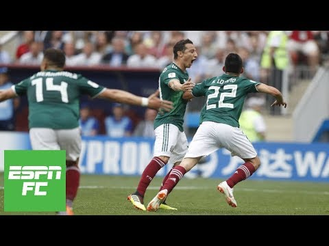 Mexico shocks Germany 1-0 at 2018 World Cup thanks to Hirving Lozano's goal | ESPN FC