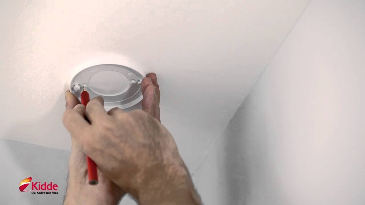 installer un détecteur de fumée