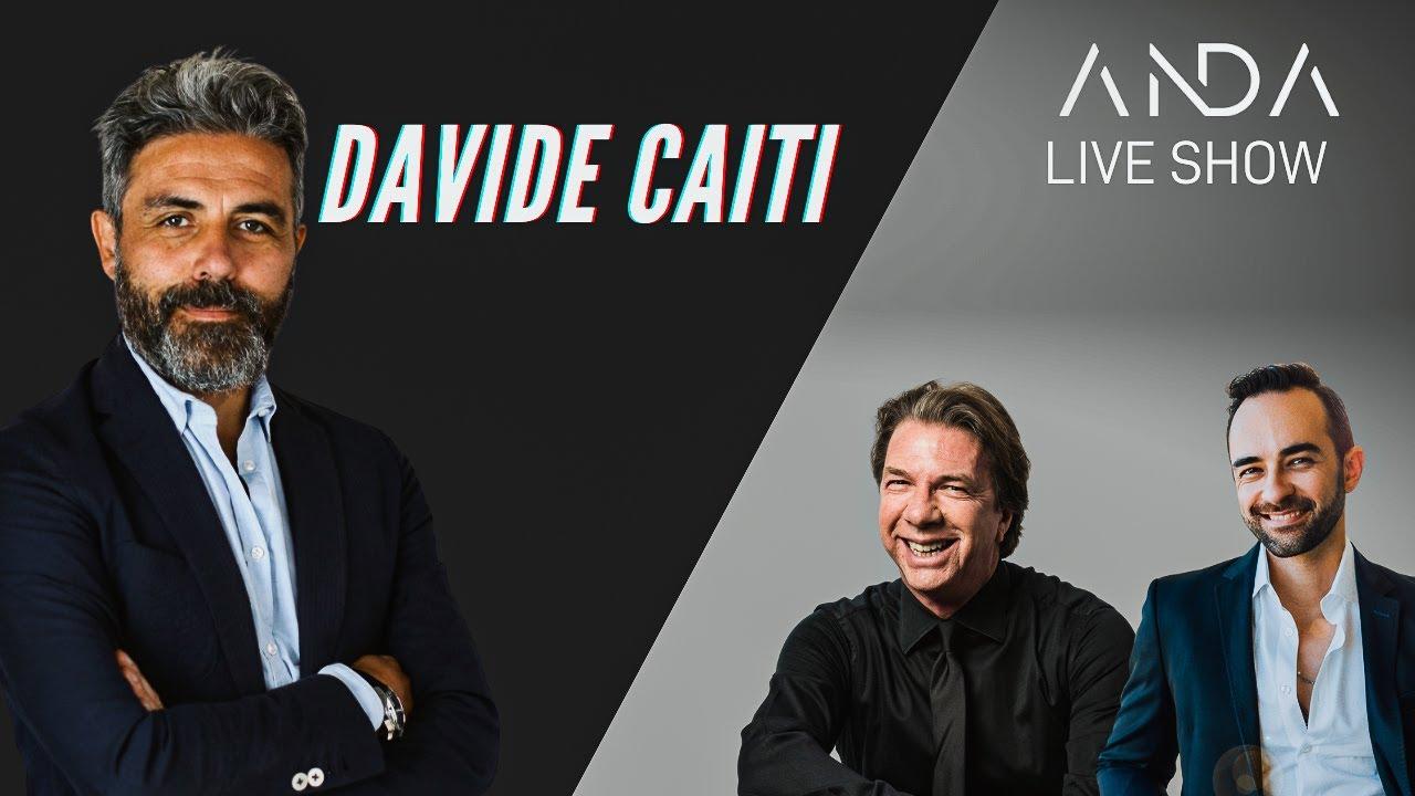 ANDA Live Show con ospite Davide Caiti