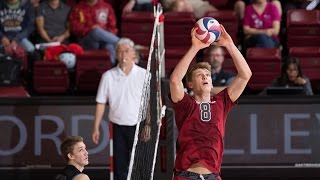 James Shaw Volleyball Highlights - Stanford vs Long Beach State