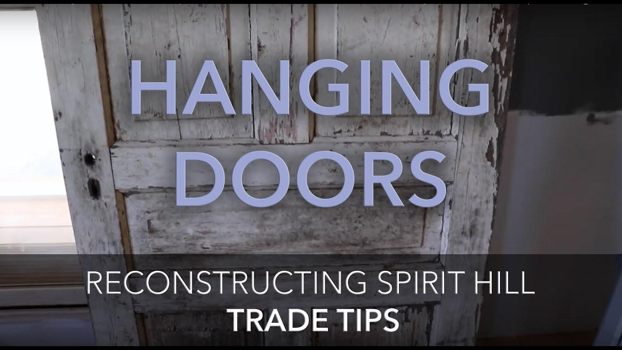 How to install a new door frame - How To Build A Door Frame To Hang Or Install Old Or Antique Doors Trade Tips