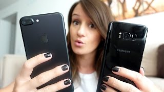 iPhone 7 or Galaxy S8? | #AskJenna