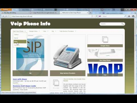 Voip-Phone-Info.net Aged Domain Name With Website for Sale
