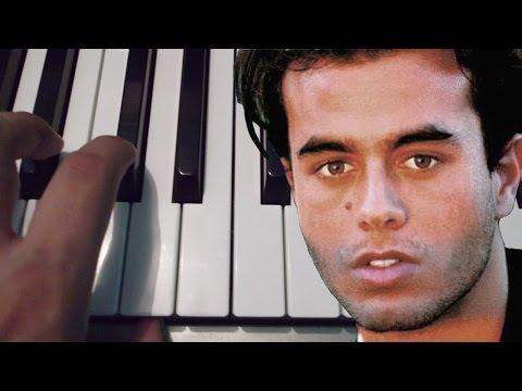 Si Tu Te Vas / Enrique Iglesias / Cover / Piano