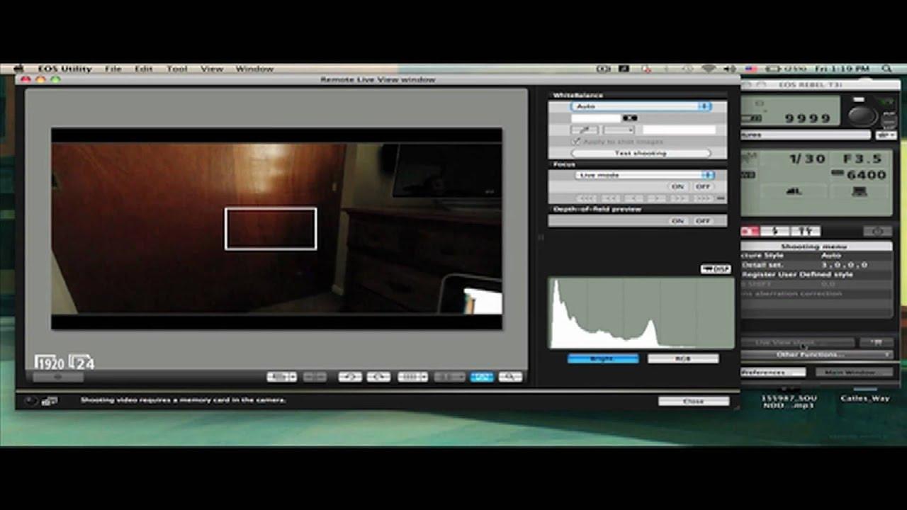 Canon camera pc software