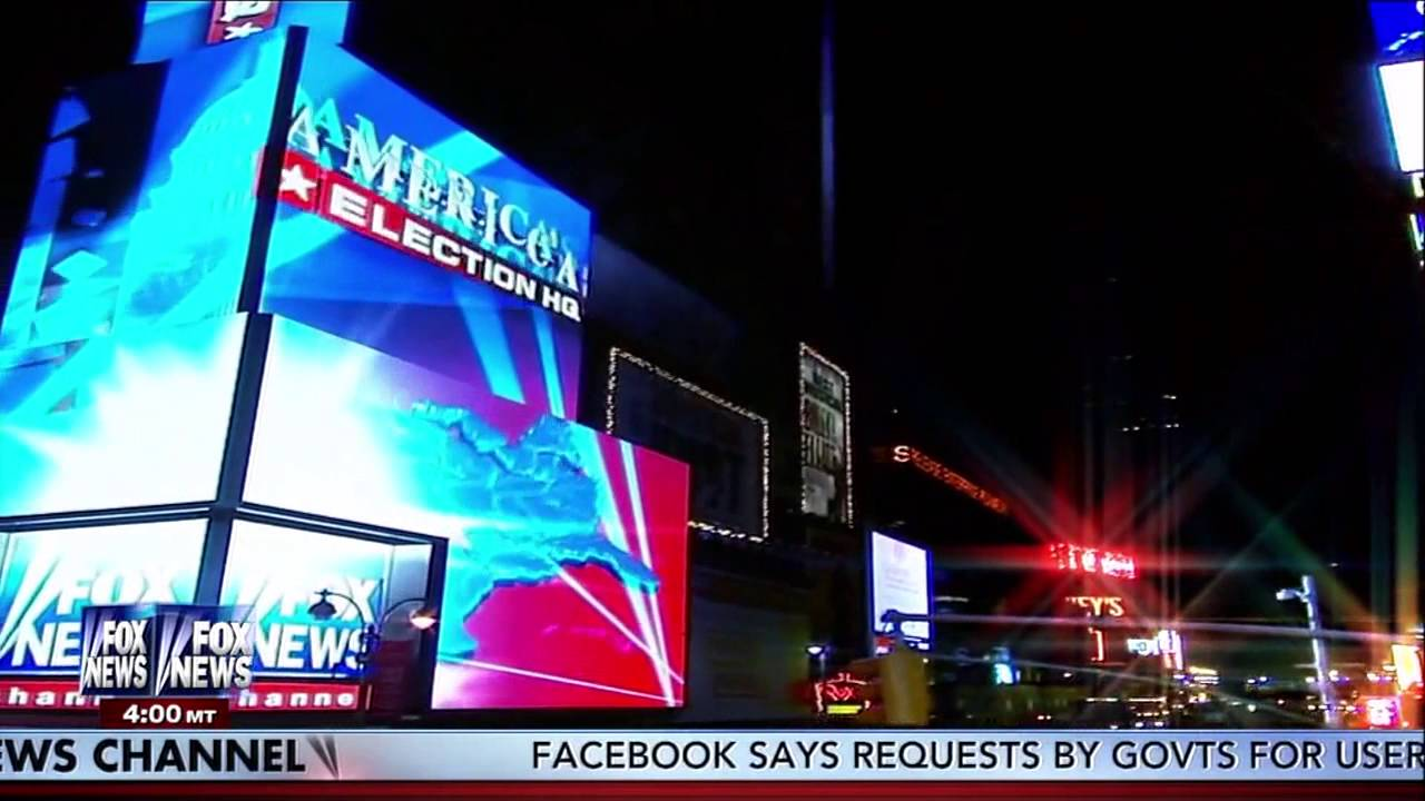 Fox News HD: America's Election HQ 2014 Intro - YouTube