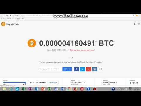 CryptoTab Free Bitcoin Mining With Google Chrome