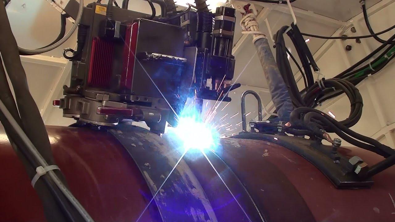 Pipeline Welding - Automatic Welding - YouTube
