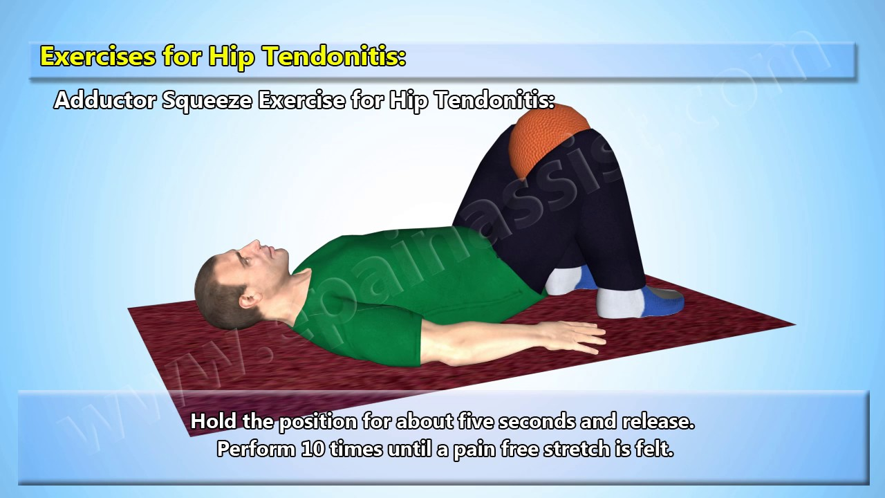 5 Best Exercises For Hip Tendonitis Youtube