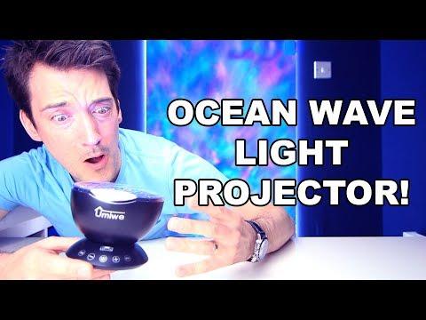 OCEANWAVE SOOTHING KIDS NIGHTLIGHT PROJECTOR REVIEW!