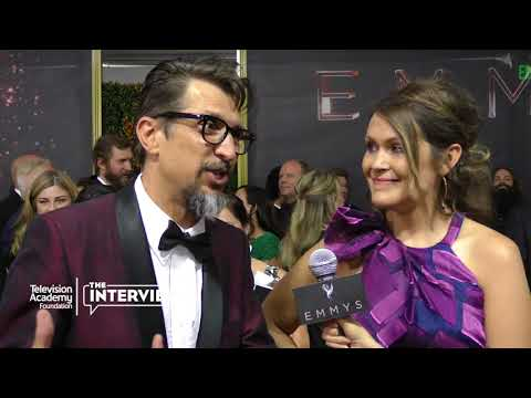 """Lucky Yates and Amber Nash on their favorite thing about """"Archer"""" — 2017 Creative Arts Emmys"""