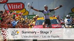 Summary - Stage 7 (L'Isle-Jourdain / Lac de Payolle) - Tour de France 2016
