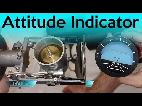 Ep. 60: Inner Workings of an Attitude Indicator   Gyroscope