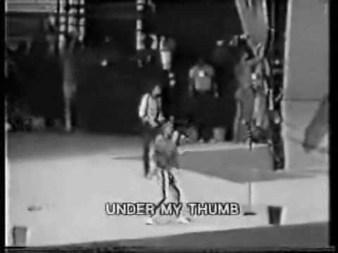 Rolling Stones: LIVE in ITALY: Under my Thumb  11 luglio 1982 CAMPIONI DEL MONDO ! ! !