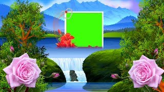 3D Wedding green screen effect background | shaadi background 3d.