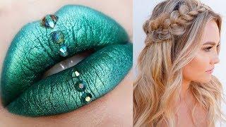 Amazing Glam Makeup Tutorials Compilation | DIY Makeup Life Hacks! Skin Care! (Part 5)