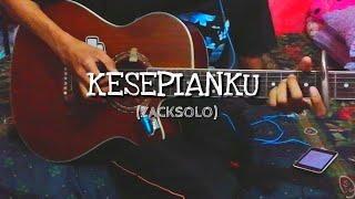 KESEPIAN KU - Zack Solo   Fingerstyle cover   Guitar cover   Faiz Fezz