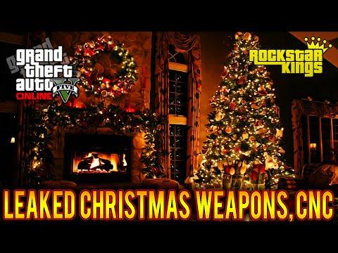GTA 5 Leaked Christmas DLC: Apartment Interior, Snow Gun, Clothing, Vehicle & More! (GTA 5 DLC)