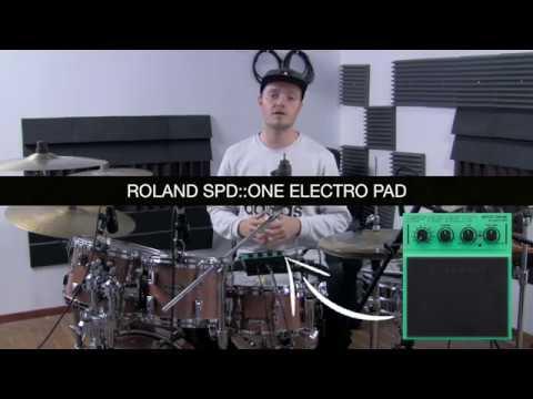 Roland SPD::ONE Electro Pad - Demonstration & Explanation  *Studio Quality*