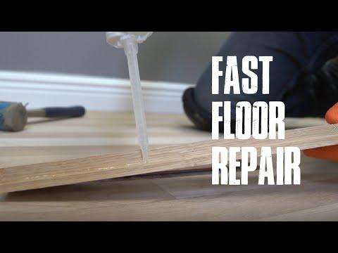 Wood Floor Repair Made Easy With Norton