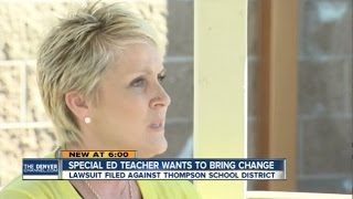 Former Colorado Teacher Sues School District, Alleges Student Hurt Her - Newsy