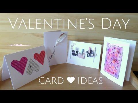 DIY  Easy Valentine's Day Cards   Creative Valentine Card Ideas for Boyfriend or Girlfriend