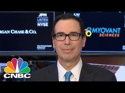 Treasury Secretary Steven Mnuchin Reacts To Tariffs And Strong Jobs Report | CNBC