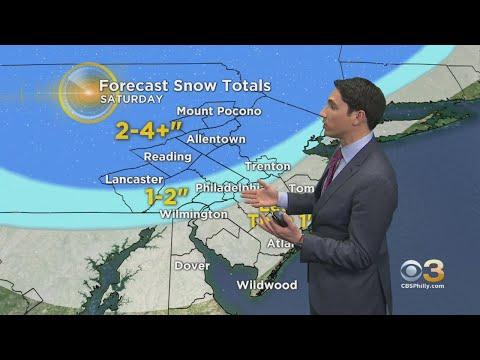 Philadelphia Weather: Tracking Weekend Snow