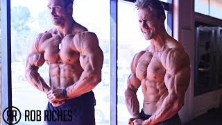 MASSIVE Shoulder Workout | Mike O'Hearn & Rob Riches