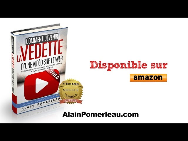 Comment devenir la vedette dune vidéo sur le web - Trailer du livre