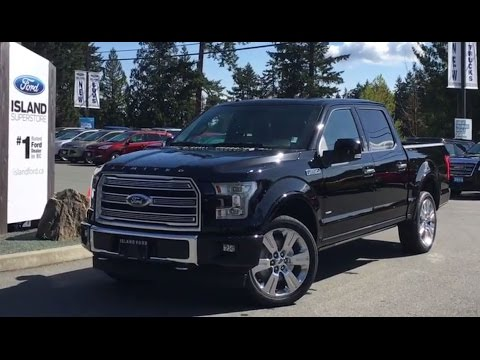 2017 Ford F 150 Limited Ecoboost Supercrew Power Tailgate Review