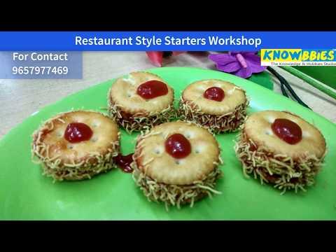 Restaurant Style Starters Class Pune | Learn Restaurant Style Starters in Pune - KNOWBBIES