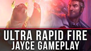 ULTRA RAPID FIRE! - Jayce - 2016 URF Gameplay!