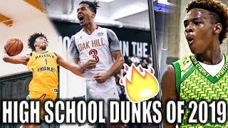 The BEST High School Dunks of 2019 | Basketball Vines