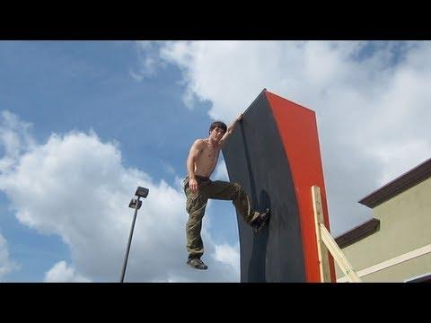 American Ninja Warrior 2012 Training With Drew Drechsel