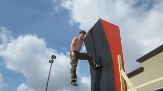 American Ninja Warrior 2012 Training With Drew Drechsel