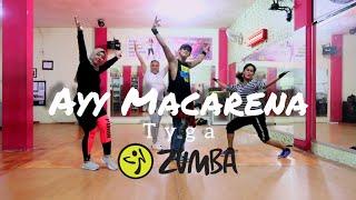 Ayy Macarena - Tyga | ZUMBA | FITNESS | At D'One Studio Balikpapan