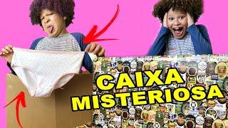 CAIXA MISTERIOSA DE R$300 REAIS - ISAAC DO VINE