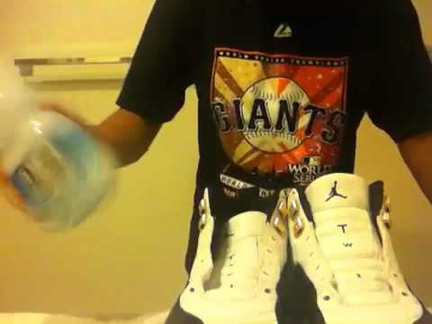 How to clean laces