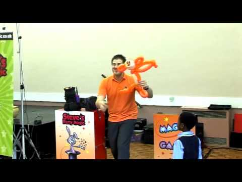 Steve's Party Magic - Children's Magical Party Entertainer