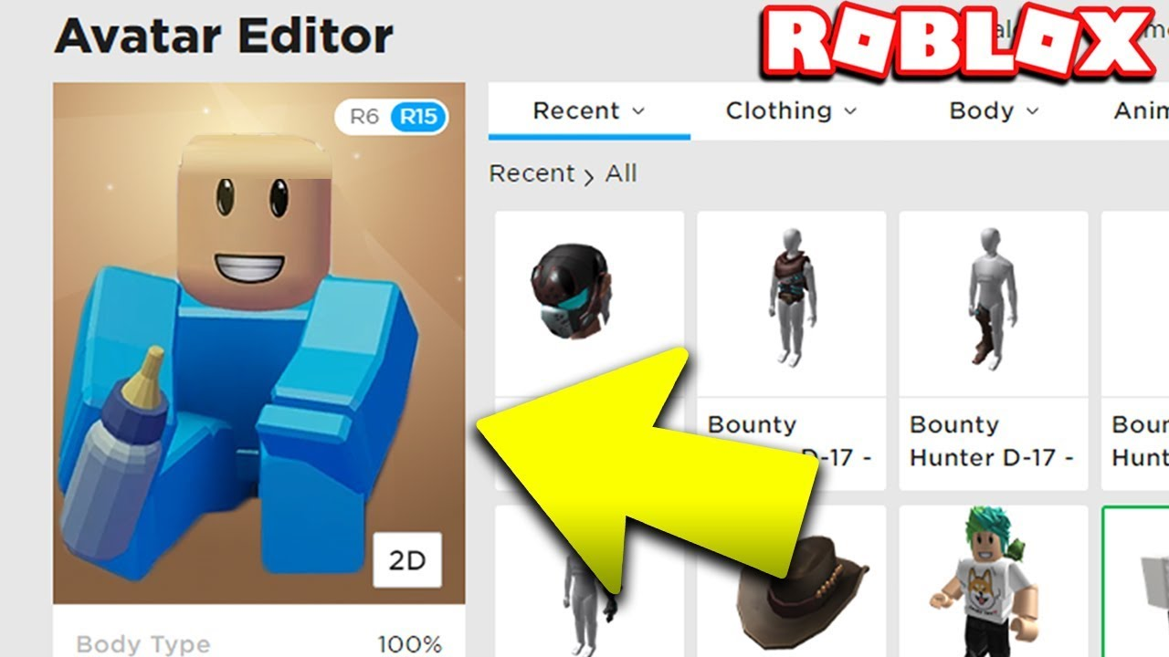 Become A Baby Avatar In Roblox Baby Simulator Youtube