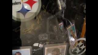 Pittsburgh Steelers autographed helmet